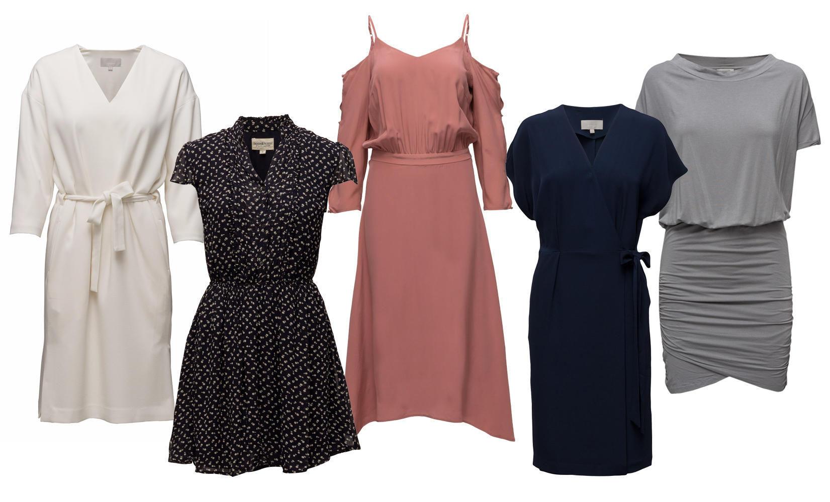 12 kjoler på salg Mote