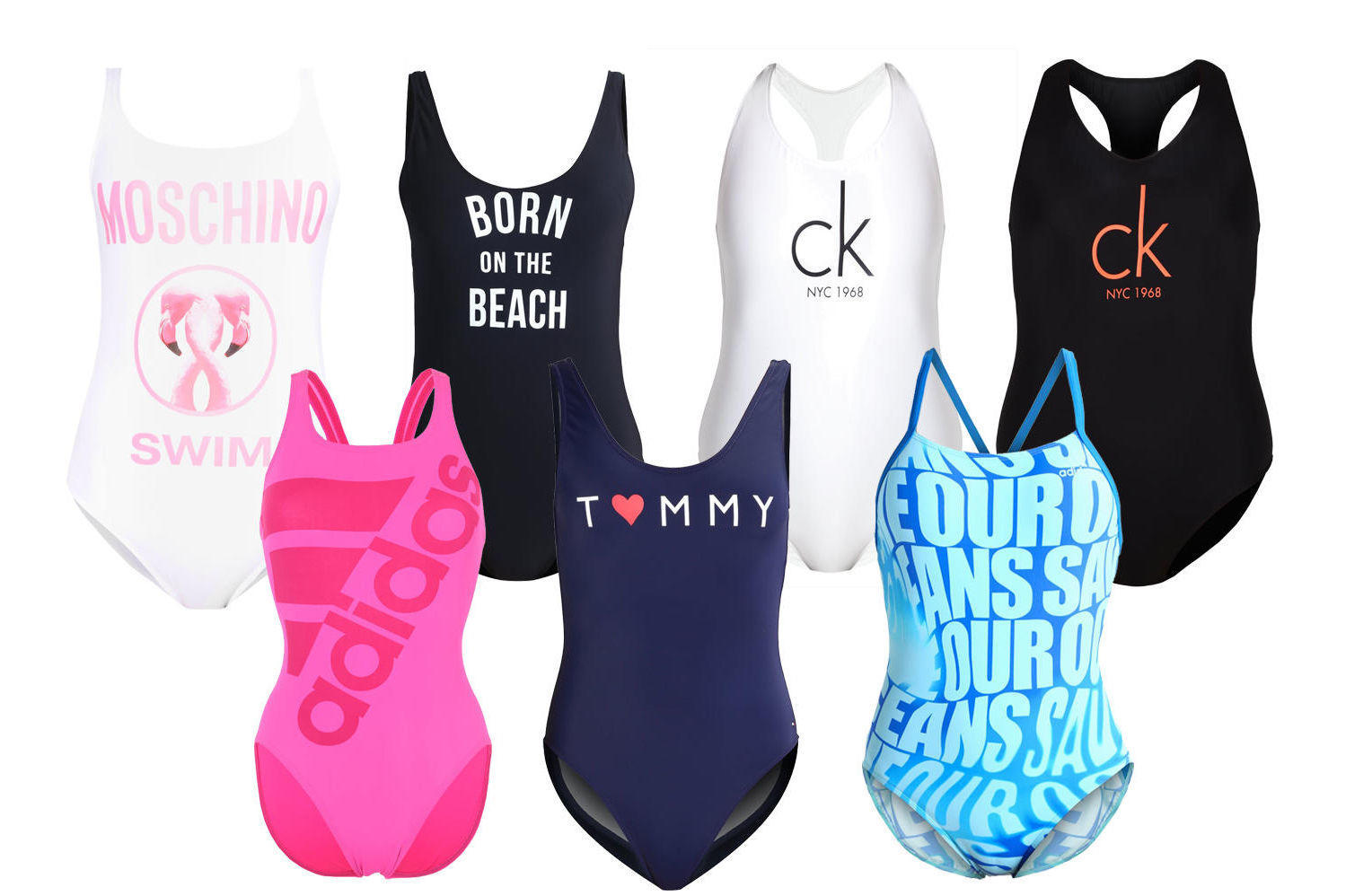 4c1f18a3 Badedrakt fra MOSCHINO HER – ADIDAS HER – BANANA MOON HER – TOMMY HILFIGER  HER – CK HER – ADIDAS HER – CK HER
